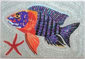 Puzzle Poisson Mosaique