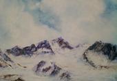 Avril en montagne par F. J. Villacampa