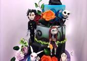 Tim Burton's cake !