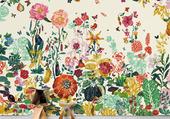 fleures murales