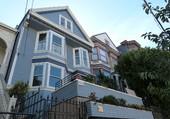 San Francisco, la Maison Bleue