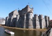 Le Château des Comtes - Gand - Belgique