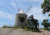 Ile de Porquerolles - Moulin du Bonheur