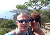 Nathalie et Philippe Cadaques Août 2014