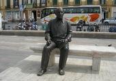 Statue de Pablo Picasso