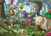 foret pokemon