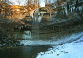 Puzzle cascade gelée