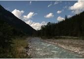 La rivière en montagne