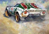 sport car:Lancia Stratos