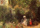 Le jardin à Pontoise