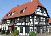 Une maisons alsacienne