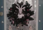 Ma décoration de Noël de l'an passé .