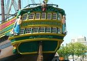Gallion hollandais port d'Amsterdam