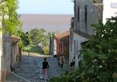 ruelle pavée à Colonia Uruguay