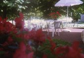 Rihoue et les fleurs