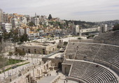 Théâtre et ville de Amman