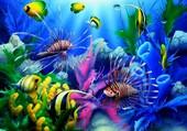 Le monde magique des fonds marins