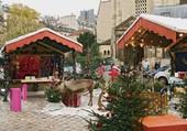 Le marché de Noël de St Germain des Prés