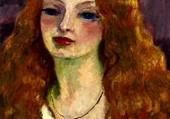 portrait de femme par Van Dongen