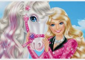 Barbie et son cheval