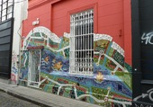 Fresque murale à Buenos Aires