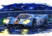 Porsche 917 au mans
