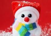 Rigolo petit bonhomme de neige