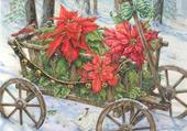 brouette de Noel