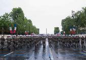 14 juillet Paris défilé Légionnaires