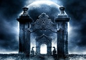 Puzzle porte à la lune
