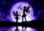 Puzzle danse féerique au clair de lune