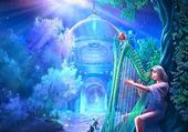 harpiste fantaisy