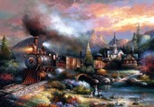 train romantique