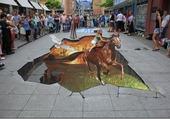 cheval de craie