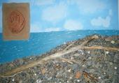 plage abandonnée