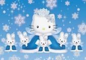 Puzzle Le Noël de Kitty
