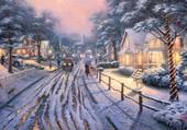 Thomas Kinkade - Christmas memories