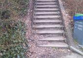 Escalier du pont Sainte Hélène