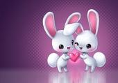2 lapins love