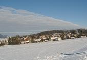 Oron sous la neige