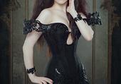 Lady Morgana pour Royal Black Corset