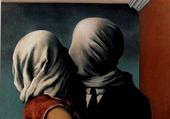René Magritte, Les Amants I, 1928