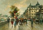 La gare d'Orléans et le quai d'Orsay