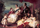 La Reine Victoria en famille