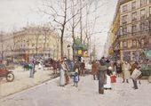 Boulevard des Capucines Pl. Madeleine