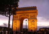 Arc de Triomphe éclairé