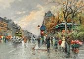 La rue Lafayette et la rue Montholon