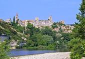 Village d'Aigueze village médiéval