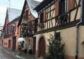 Village de  Ribauvillé en Alsace
