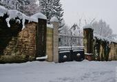 La neige est à la porte